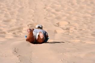 Erin Slides Down