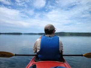 Lance Kayaking