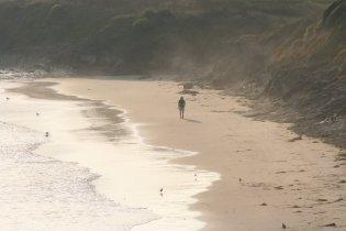 Lance on the Beach