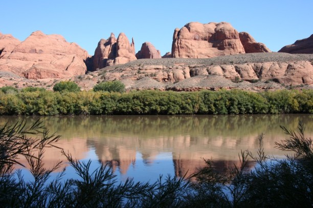 Looking East Across the Colorado River