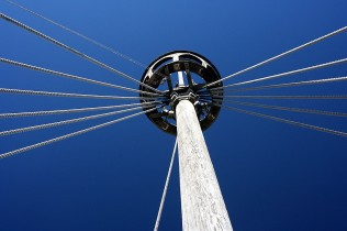 Looking up at the Crow's Nest