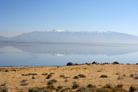 Salt Lake Reflection
