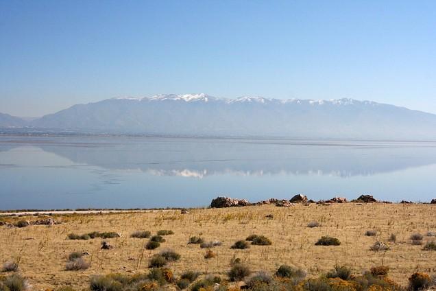 Salt Lake Reflection