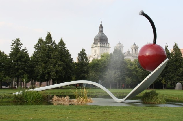 Spoonbridge and Cherry, Another Angle