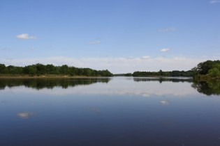 The Wisconsin River from Aldo's Land